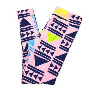 LuLaRoe Tall & Curvy (12-18) Pink Leggings NWOT